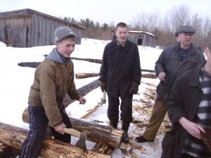 Будущие плотники