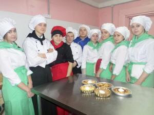 учебная практика в учебном кулинарном цехе